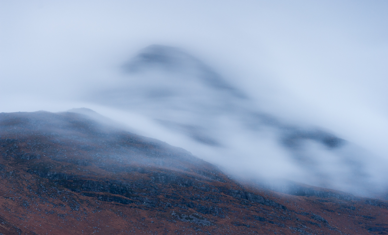 Clouds at dusk, Glen Torridon, Scotland