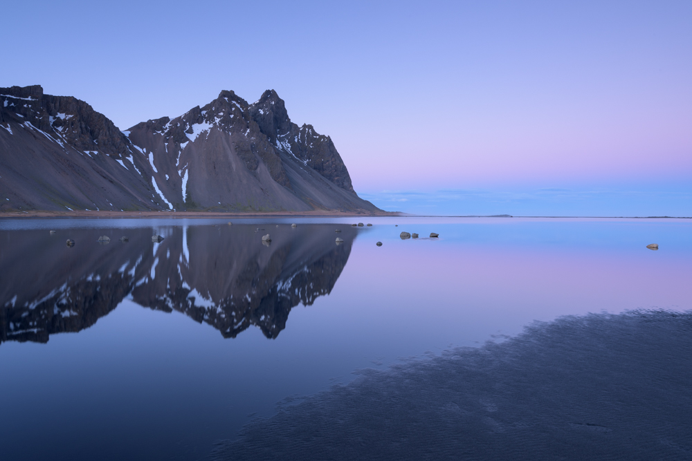 Dusk at Stokksness, Iceland