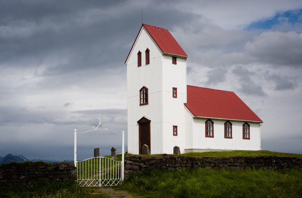Ulfljotsvatn  church, Iceland
