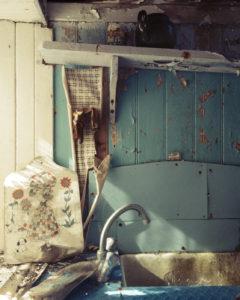 Abandoned house, Harris, Scotland