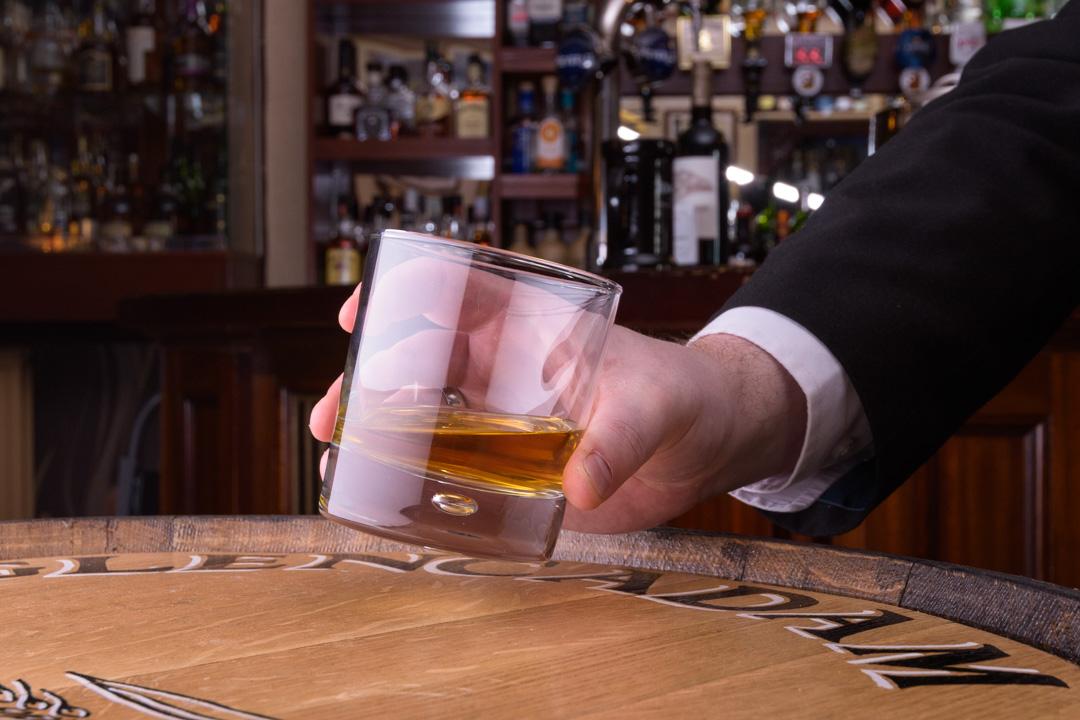 Whisky Bar, Glen Esk Hotel, Edzell, Angus, Scotland