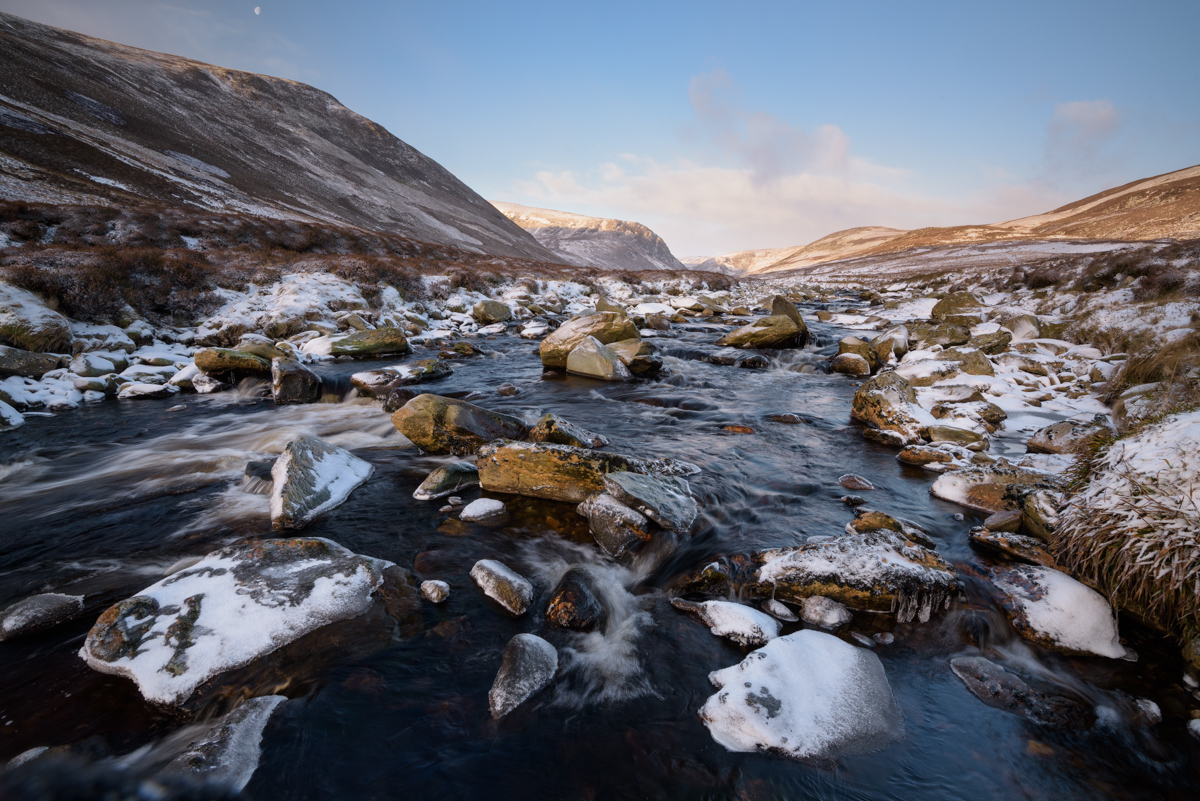 Water of Saughs, Glen Lethnot, Angus, Scotland
