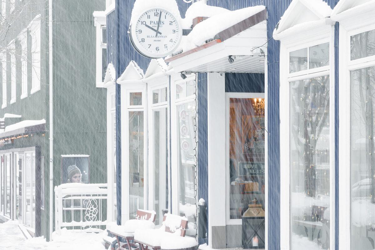 Blaa Kannan coffee shop, Akureyri,  Iceland